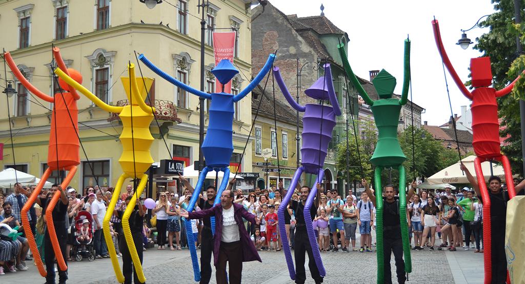 Big Dancers en Sibiu